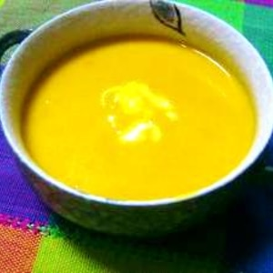 ミキサー使わず★お手軽パンプキンスープ