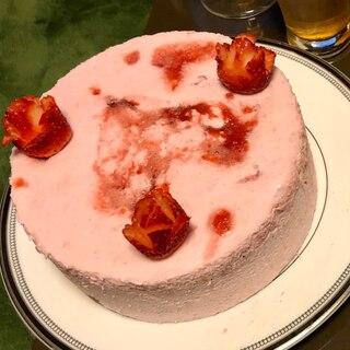 苺のムースケーキ(直径18cm)