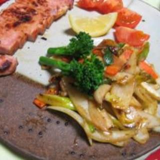 野菜がおいしい!XOジャン炒め