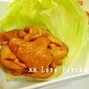 もちもち食感☆ 鶏皮のケチャップ炒め