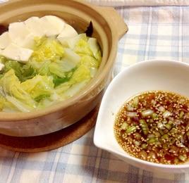 簡単(^○^)湯豆腐♪
