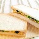 ♪母の日に♡ほうれん草ベーコン入り玉子サンド♪
