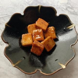 もちもち食感!タレがクセになる高野豆腐照り焼き♡