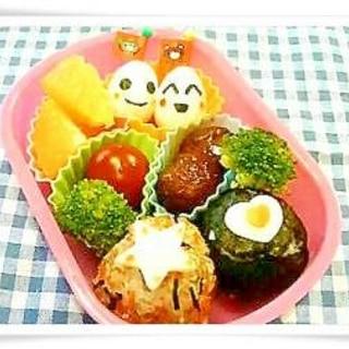 幼稚園☆初めてのお弁当♪