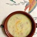 豚ロース、ズッキーニのクリームシチュー