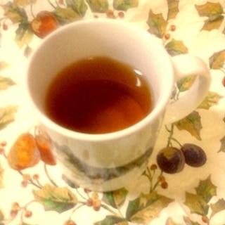 これで花粉症を乗り切ろう☆りんごの煮汁入り甜茶紅茶