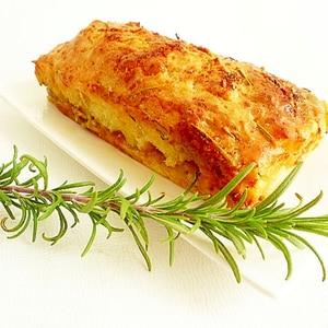ブルーチーズ&はちみつローズマリーケーキ