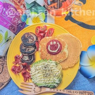 【パンケーキ】[野菜]ネギパンケーキ