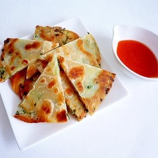 葱油餅 中華風ねぎ焼き 台湾屋台グルメ