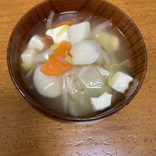 野菜たっぷり★けんちん汁♡