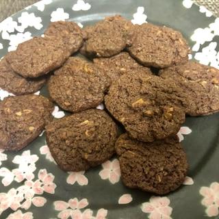 サクサク美味しい♪ココナッツチョコクッキー
