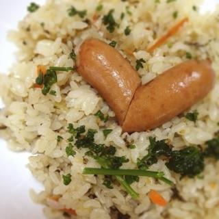 炊飯器でラクラク★『高菜ピラフ』