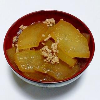 冬瓜と挽肉の煮物