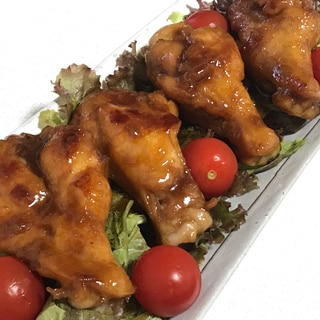【下味冷凍】鶏手羽元のこってり照り焼き
