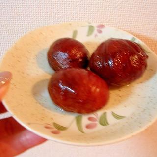 秋の味覚 栗の渋皮煮