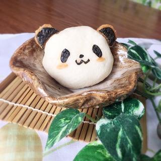 お買いものパンダの簡単オムチーズパンダまん