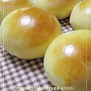 レンジで簡単!!アップルカスタードパン~HB版~