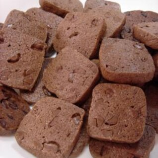 生地は10分で!チョココアクッキー