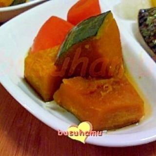 かぼちゃと人参の煮物☆