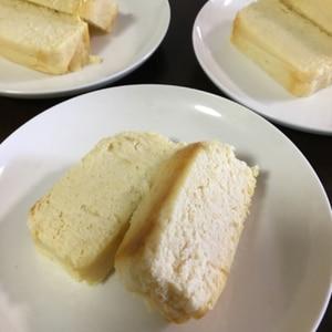 どっしりおからのまるでチーズケーキ