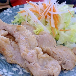 塩麹をプラス♪豚の生姜焼き