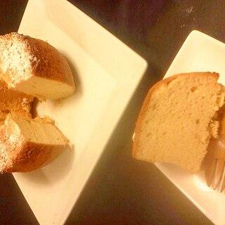 ホワイトチョコシフォンケーキ