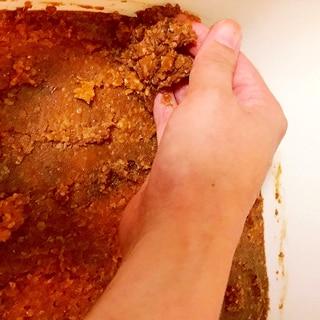 手作り味噌のお手入れ法