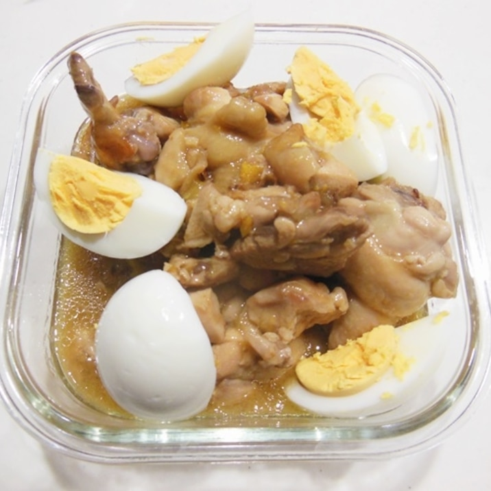 鶏肉のキンカンジャム煮
