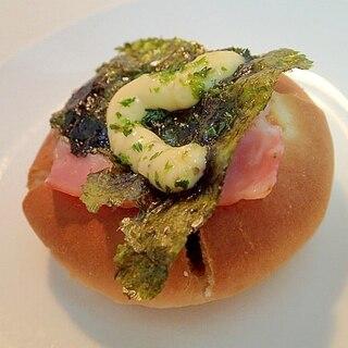 タルタル/青のりで ベーコンと韓国海苔のカレーパン