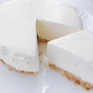 ふわふわとろける〜♫幸せのレアチーズケーキ