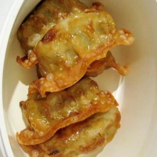 大葉の揚げ餃子