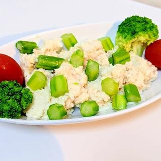 簡単♪食物繊維たっぷり!オートミールポテトサラダ