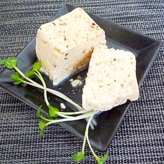 チーズ&ブラックペッパー豆腐