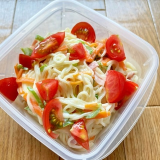 パスタで作るより簡単&柔らか食感 そうめんサラダ