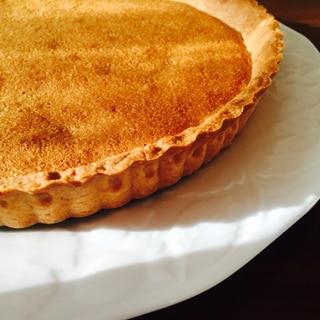 ザクザク美味しいタルト生地(パートシュクレ)