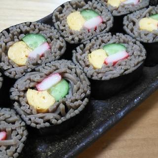 簡単♪そば寿司