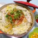 ミルフィーユキムチ鍋