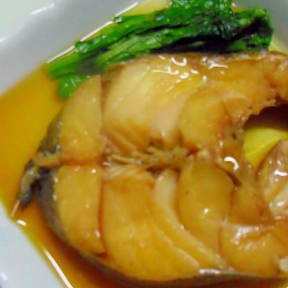 生鱈の煮つけ