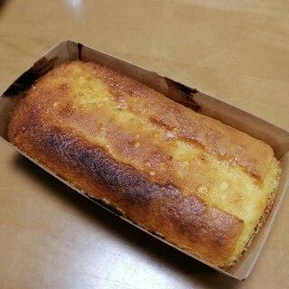 トースターで簡単!パウンドケーキ