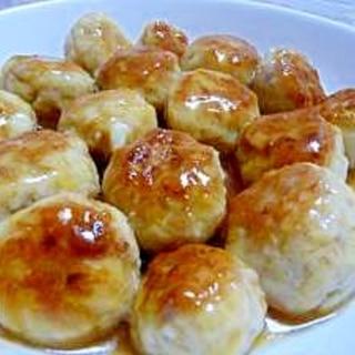 筍の煮物をリメイク★肉団子