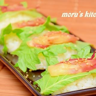 夏野菜の味と香り!簡単に作れるみょうが寿司