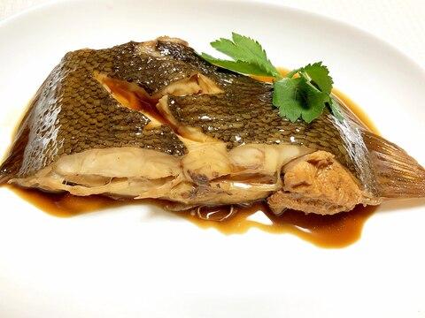 煮魚の黄金比ver.1♪フライパンで本カレイの煮付