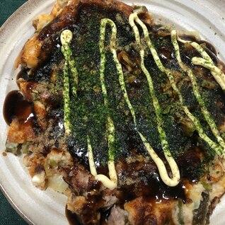 キムチ・チーズ入り 豚玉・お好み焼き