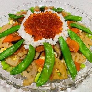 ちょっと贅沢に♡海鮮ちらし寿司