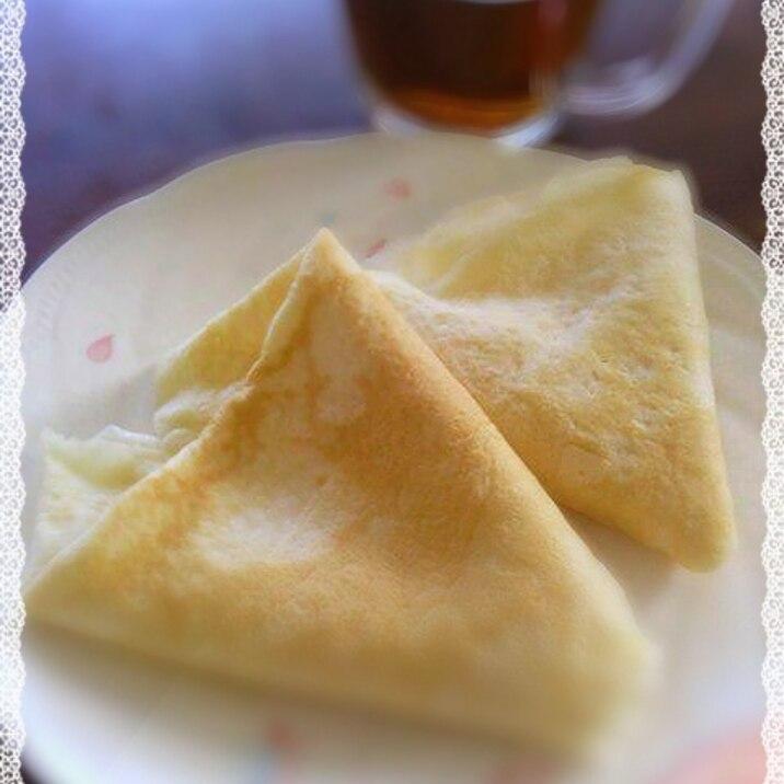 ホット ケーキ ミックス クレープ