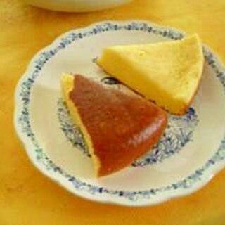 炊飯器とプロセスチーズdeチーズケーキ