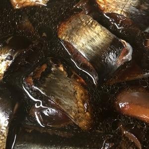圧力鍋で、とろけるニシンの梅煮