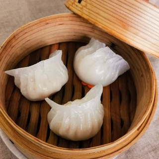ぷりぷり*えび蒸し餃子