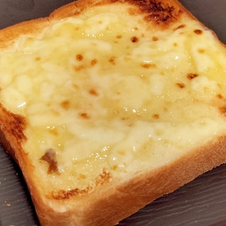 ポイントは簡単2つ!至福のチーズトースト