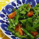 ルッコラとトマトの簡単サラダ
